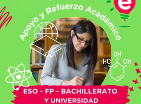 El mejor apoyo y refuerzo académico para ESO, FP, Bachillerato y Universidad